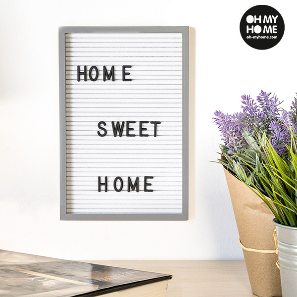 Oh My Home Frame for Letters and Numbers (16 x 22 cm)   shop ...